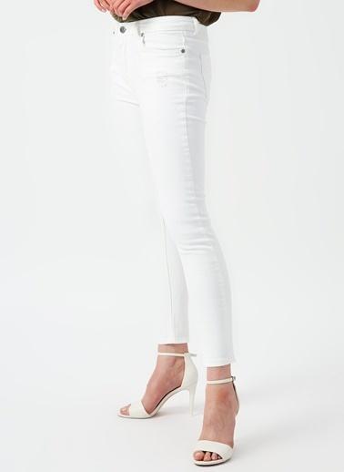 Limon Company Limon Denim Pantolon Beyaz